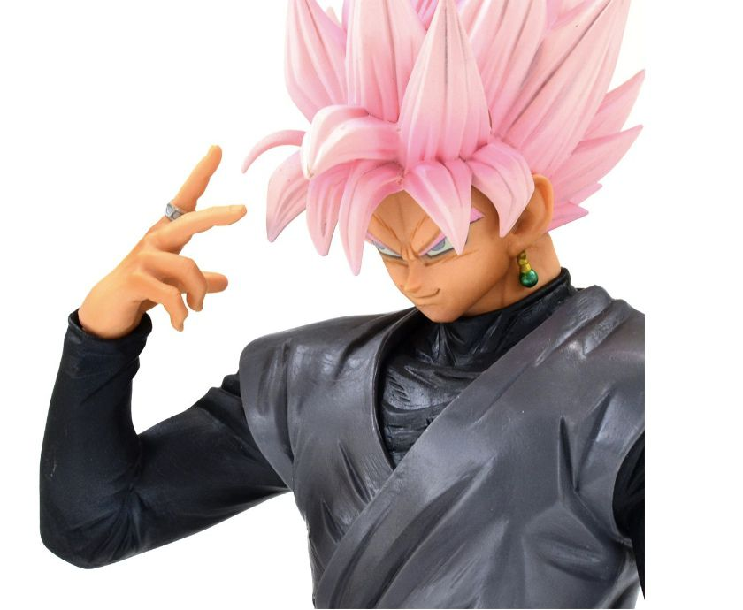 GOKU BLACK ROSE GRANDISTA - DRAGON BALL SUPER - BANPRESTO