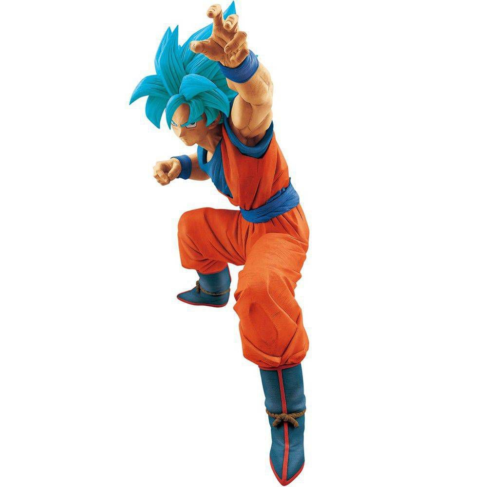 GOKU BLUE BIG SIZE FIGURE - Dragon Ball Super  - Banpresto