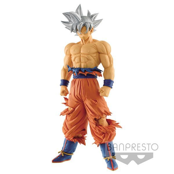 Goku Ultra Instinto Superior - Bandai Banpresto - Dragon Ball Super Grandista