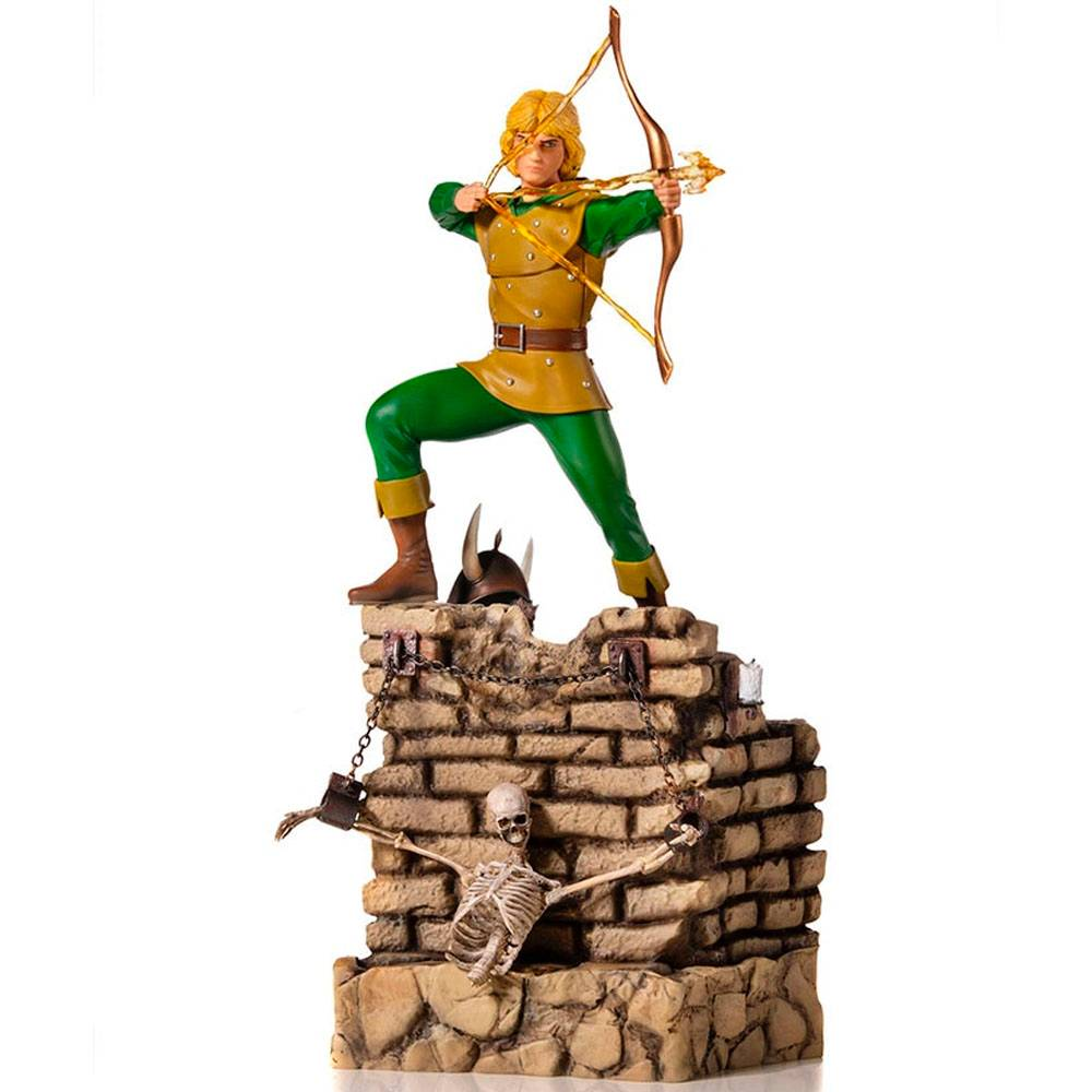 Hank The Ranger Caverna do Dragão - Iron Studios - BDS 1/10