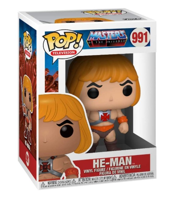 He-Man #991 - Masters Of The Universe - Funko Pop