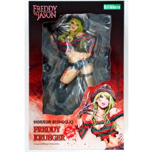 Horror Bishoujo Freddy Krueger (2nd Edition) - Freddy Vs Jason - Kotobukiya