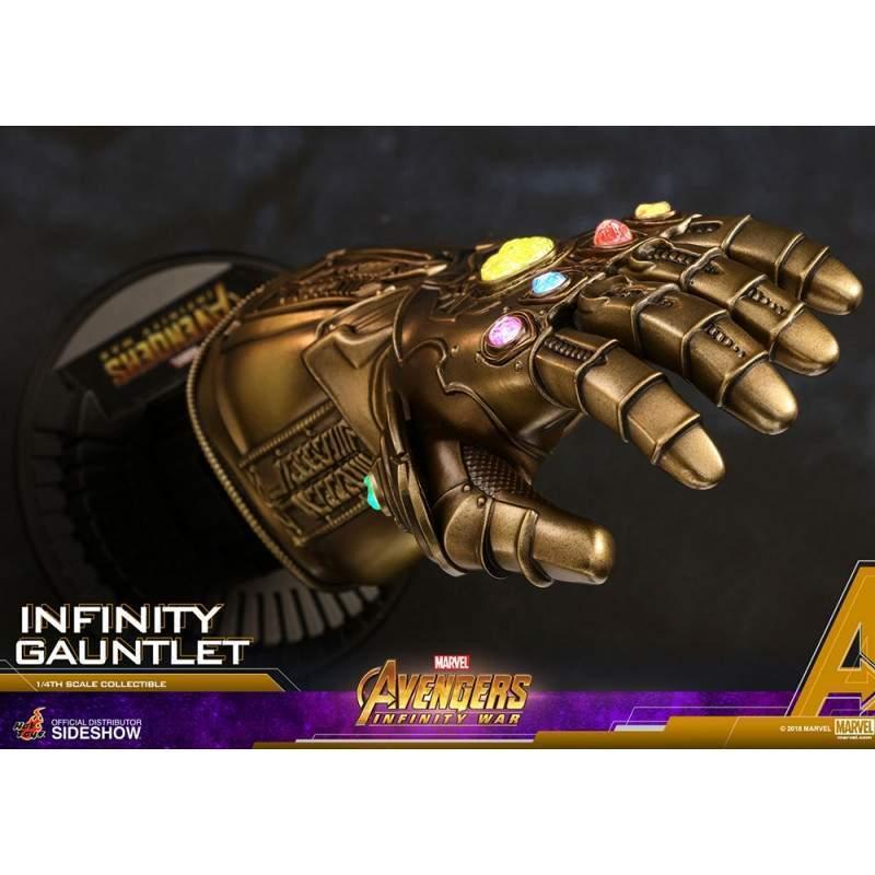 Manopla do Infinito - Hot Toys - Marvel Avengers Infinity War - ACS 003 Escala 1/4