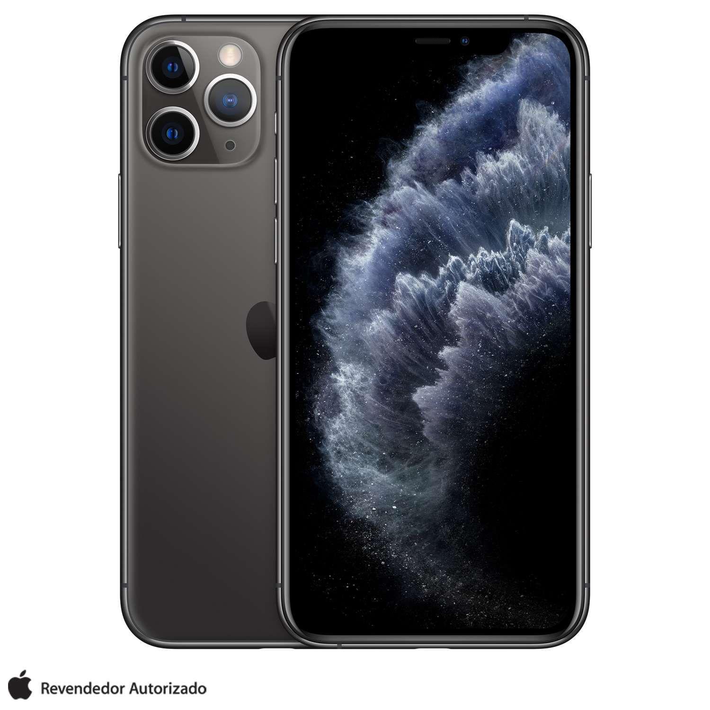 iPhone 11 Pro Cinza Espacial, com Tela de 5,8