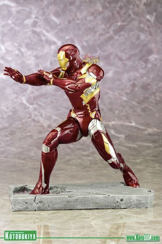 Iron-man Mark 46 Civil War - Artfx+ Kotobukiya