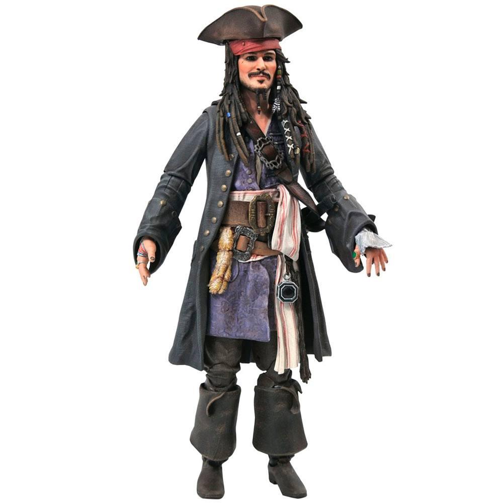 Jack Sparrow Piratas do Caribe - Diamond Select Toys