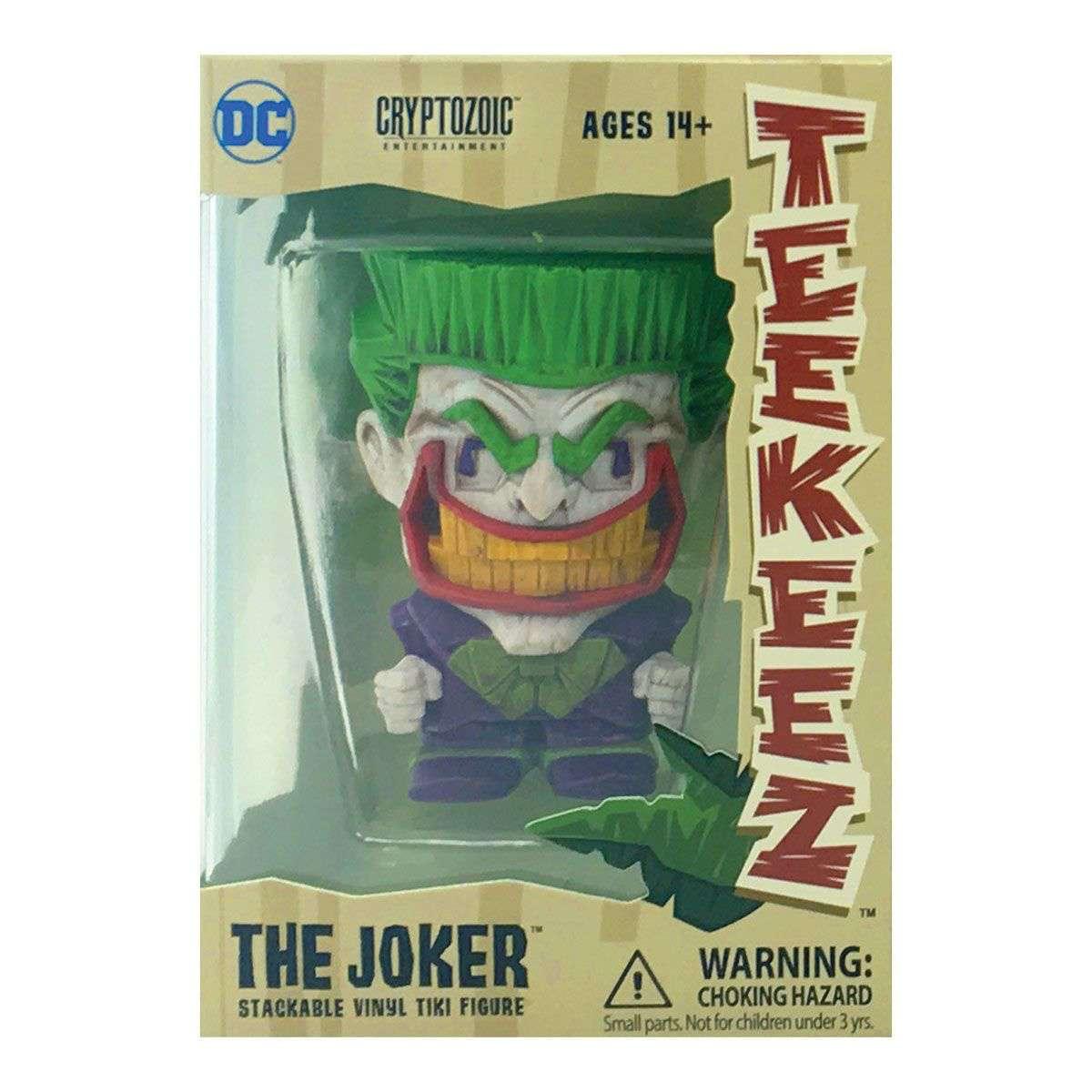 JOKER TEEKEEZ DC COMICS -  CRYPTOZOIC