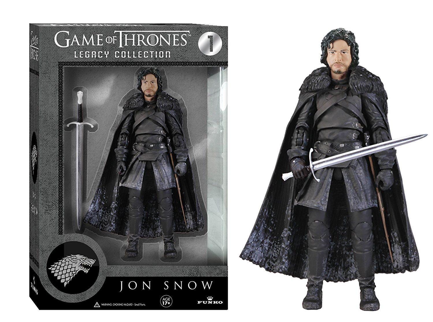 Jon Snow Game Of Thrones Legacy Collection - Funko