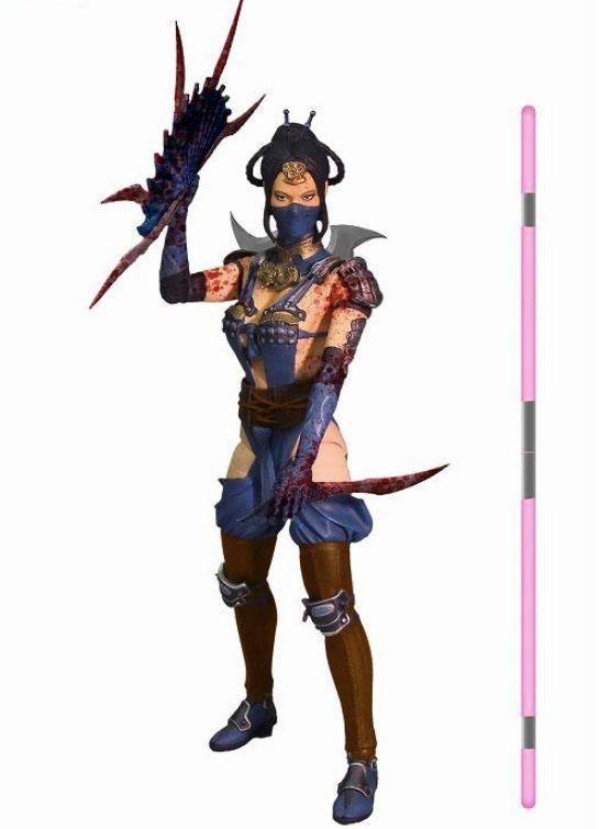 Kitana - Mortal Kombat X Mezco