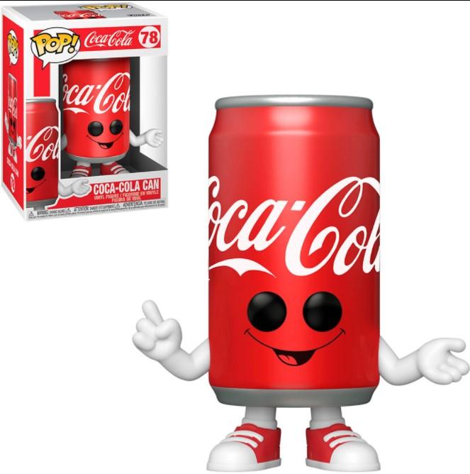 Lata da Coca Cola - Coke - Funko Pop