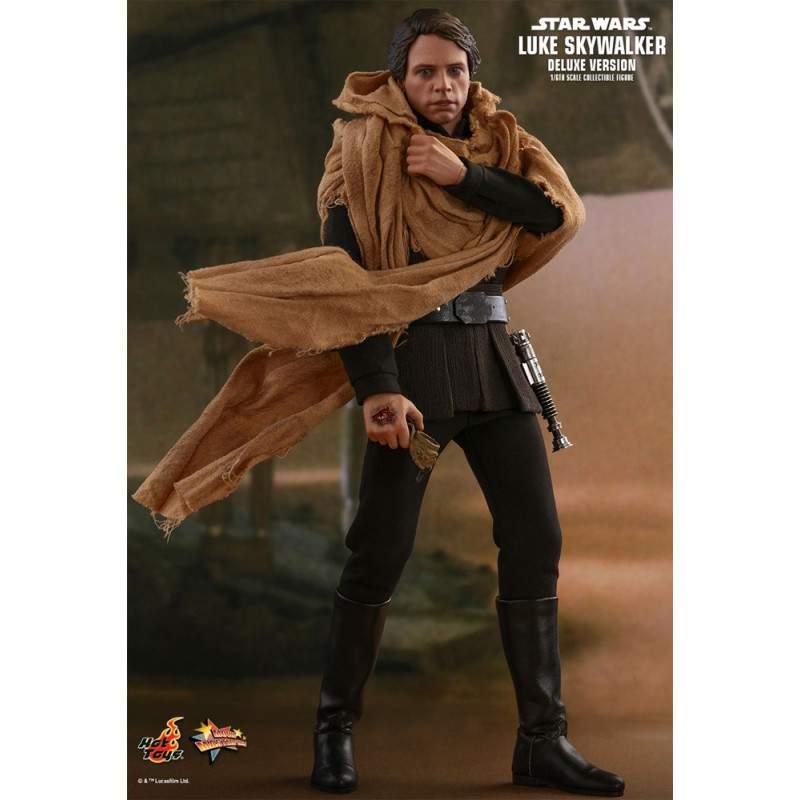 Luke Skywalker Hot Toys Star Wars Deluxe Version MMS 517 Escala 1/6