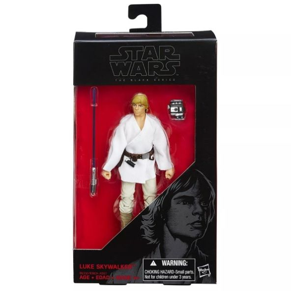 Luke Skywalker Star Wars - Hasbro - The Black Series