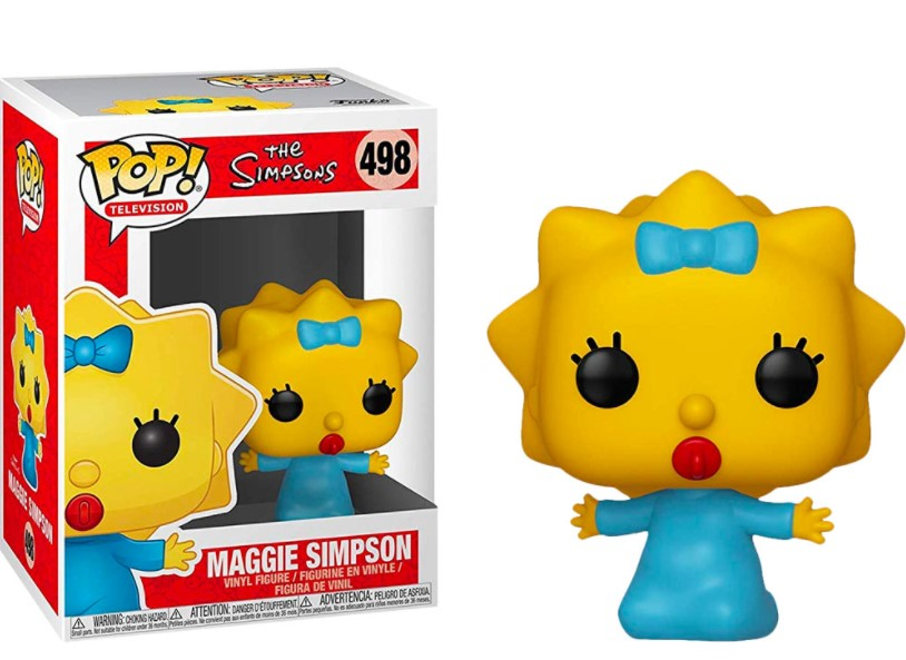Maggie Simpson 498 - The Simpsons - Funko Pop Television