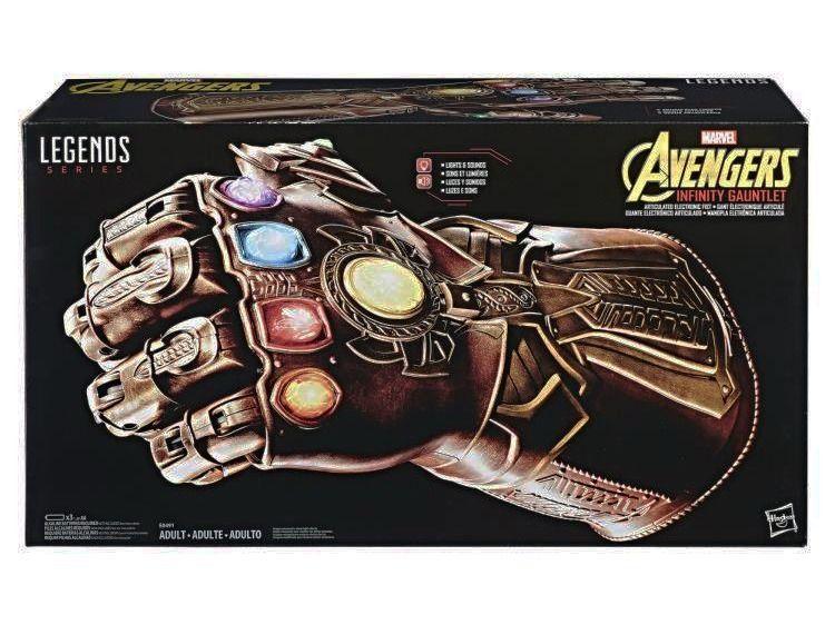 Manopla Do Infinito Thanos Original Hasbro - Marvel Legends