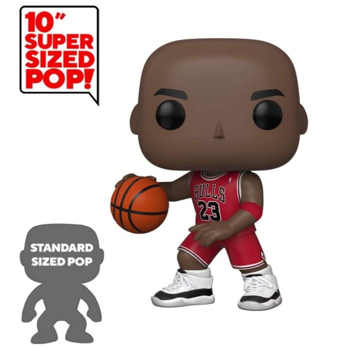Michael Jordan 10 polegadas - NBA  - Funko Pop