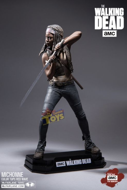 Michonne The Walking Dead Color Tops - McFarlane Toys