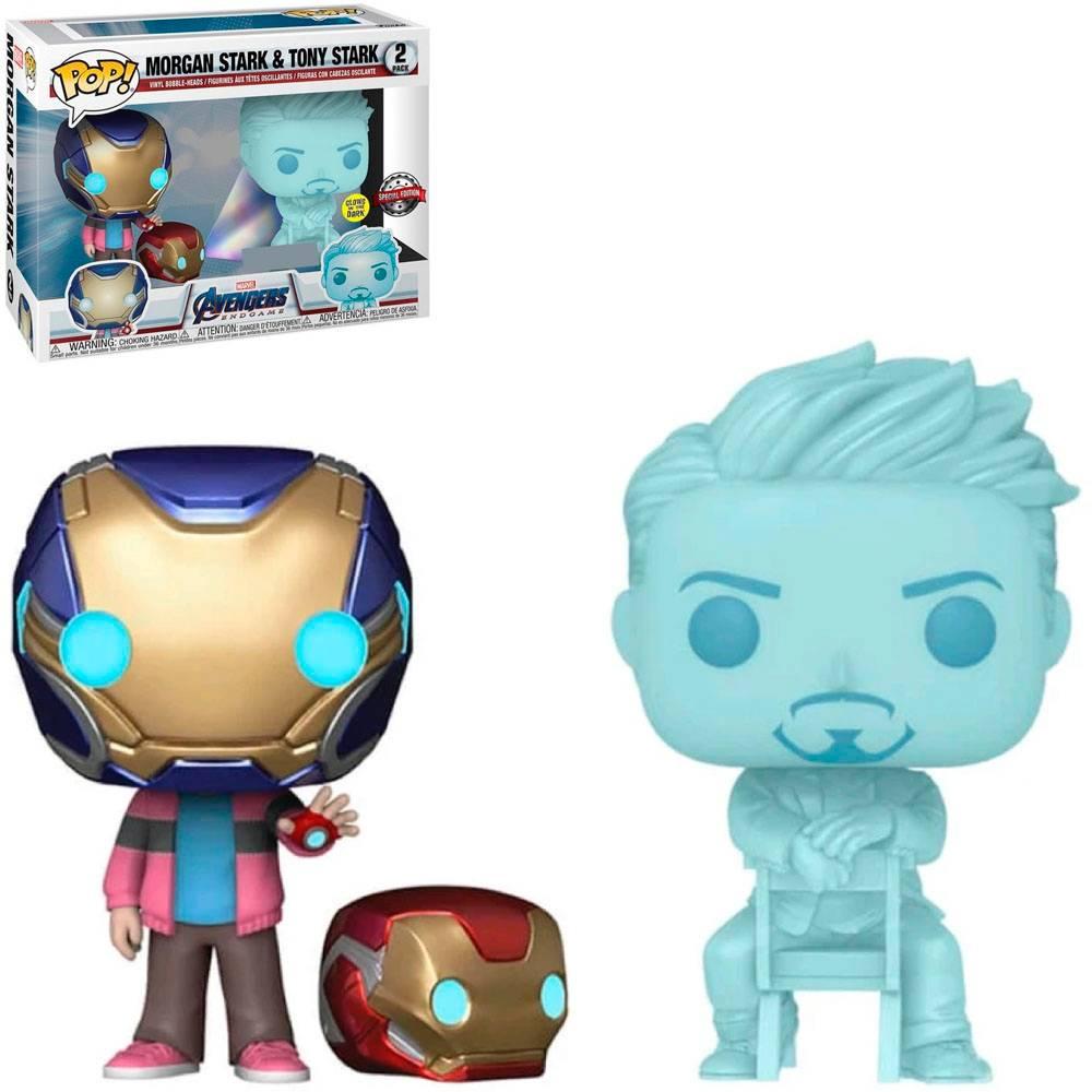 Morgan Stark & Tony Stark Avengers Funko Pop (2 Pack)
