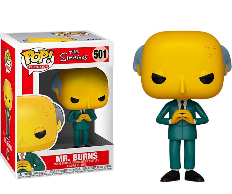 Mr.Burns 501 - The Simpsons - Funko Pop Television