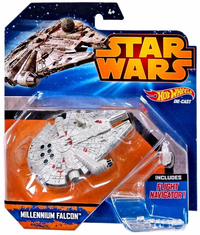 Nave Millennium Falcon Star Wars - Hot Wheels Mattel