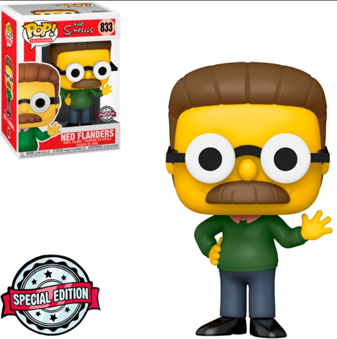 Ned Flanders 833 - The Simpsons Exclusive - Funko Pop