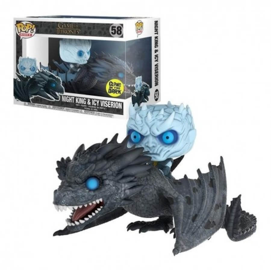 Night King no Viserion Funko Pop Game of Thrones (Exclusivo) #58