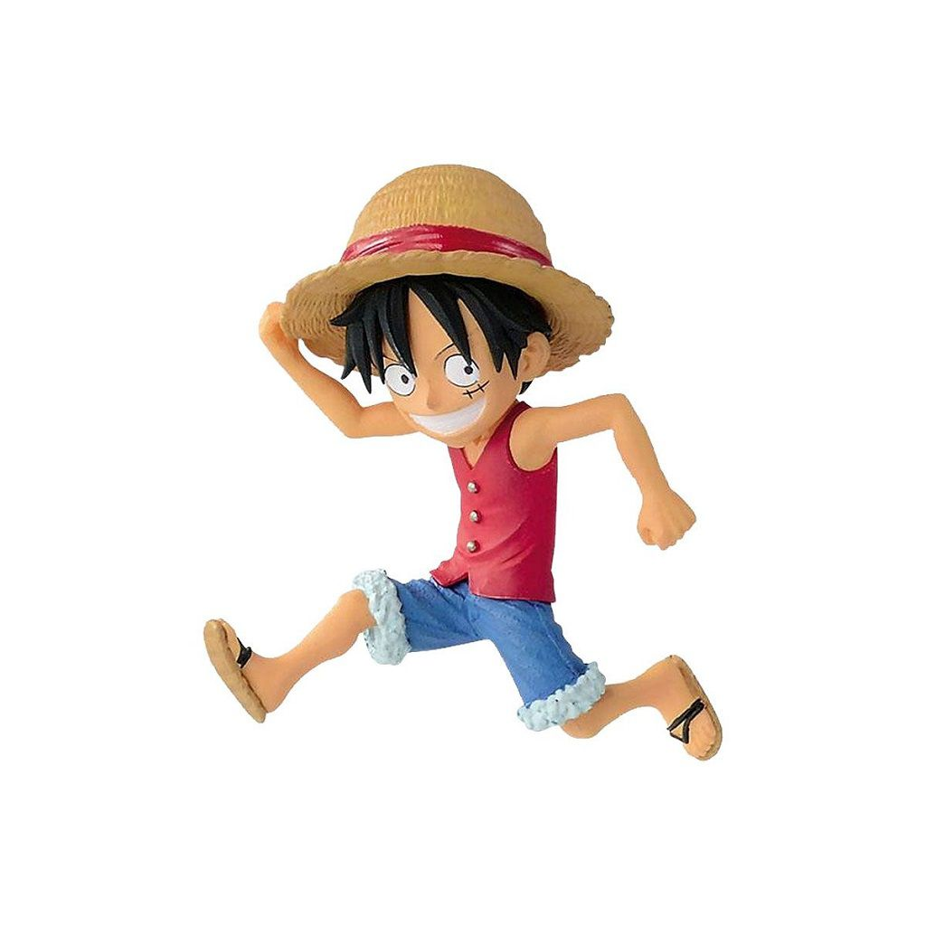 ONE PIECE - WCF 20TH - MONKEY D LUFFY - BANPRESTO
