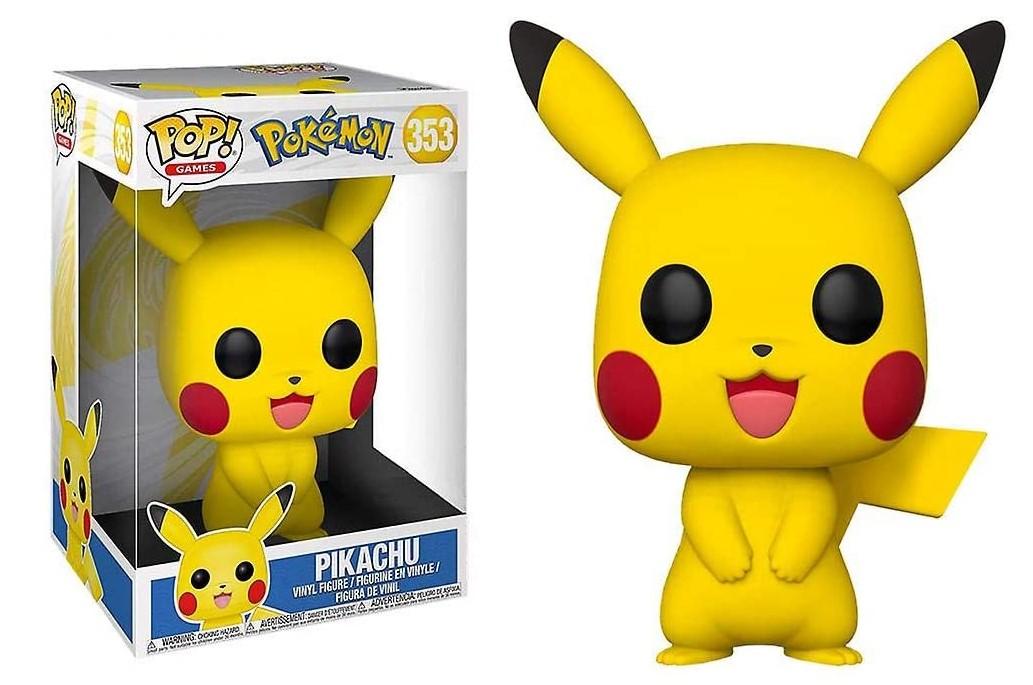 "Pikachu 353 (Super Sized 10"") - Pokémon Exclusive - Funko Pop"