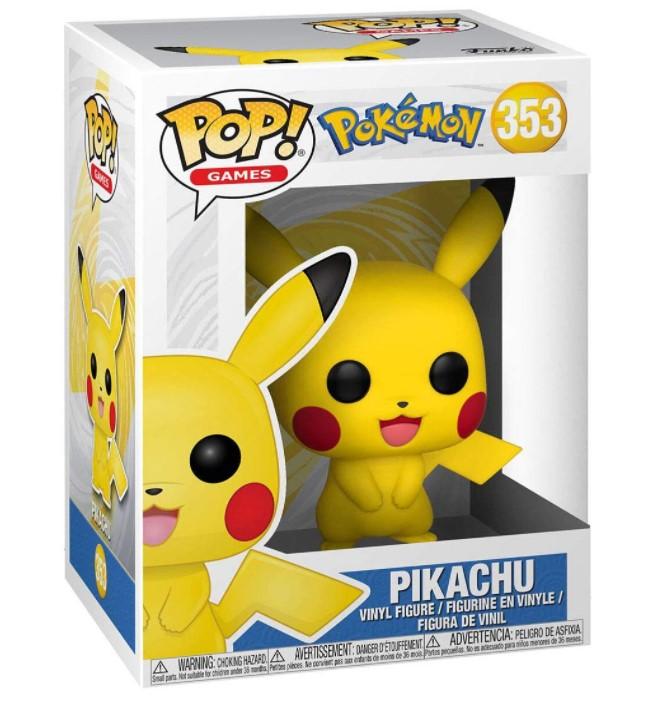 Pikachu - Pokémon Pikachu - Funko Pop