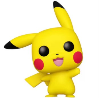 Pikachu Funko Pop Pokémon 553 -  Waving