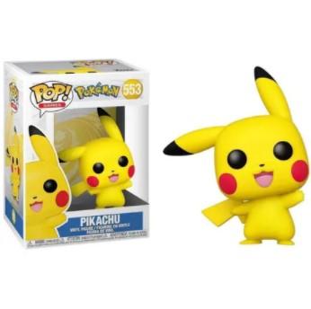 Pikachu Funko Pop Pokémon 553 -  Waving