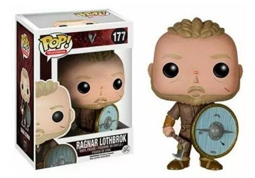 Vikings Ragnar 177 Funko Original Raro