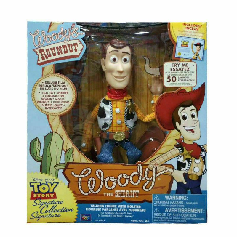 Pré Venda Xerife Woody Toy Story - Signature Collection