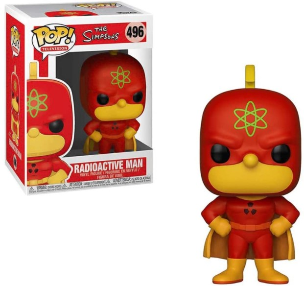 Radioactive Man #496 - The Simpsons - Funko Pop Television