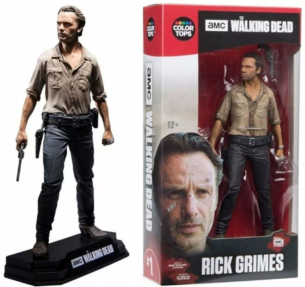 Rick Grimes The Walking Dead - Color Tops Series - Mcfarlane