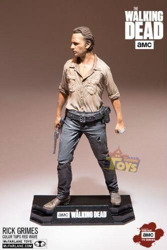 Rick Grimes The Walking Dead - Color Tops Series - Mcfarlane