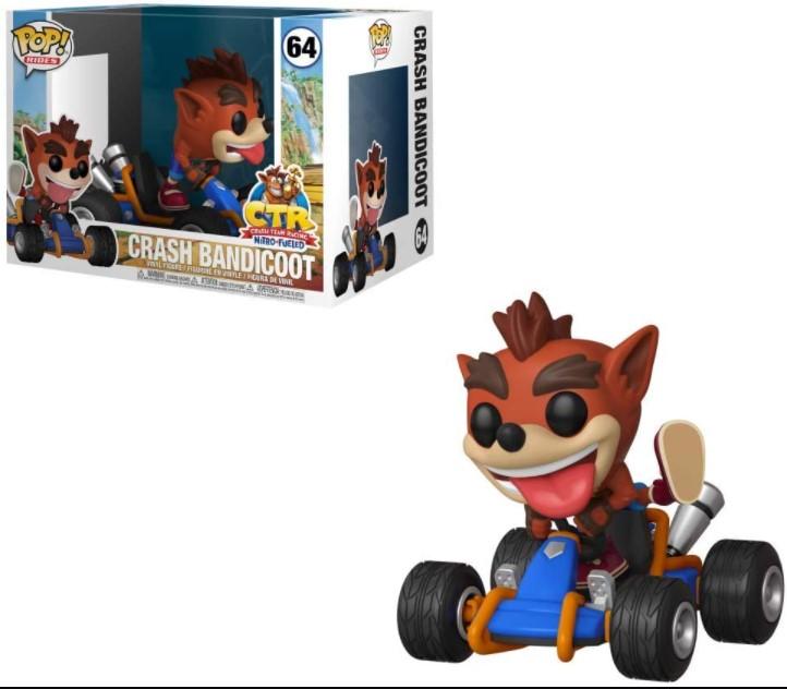 Rides Crash Bandicoot #64 - Crash Team Racing (CTR) - Funko