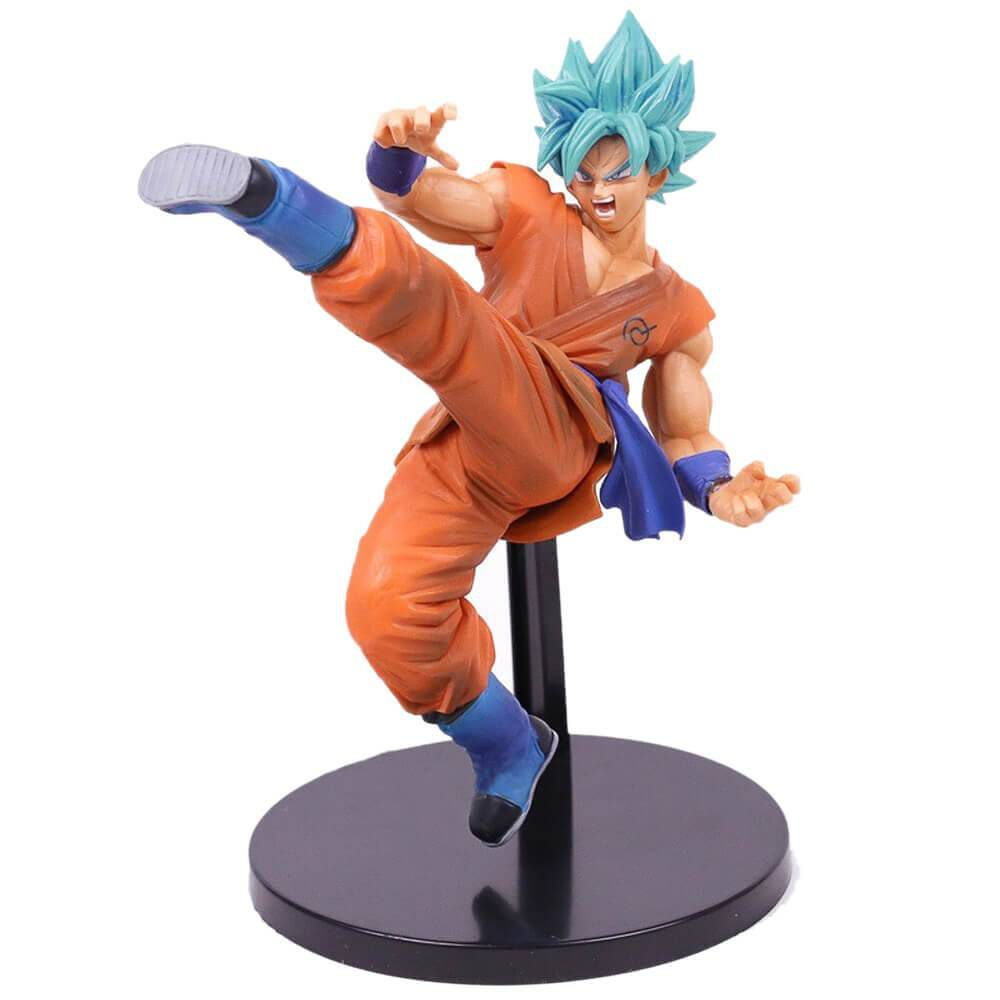 Son Goku Fess - Dragon Ball Super - Bandai Banpresto - God Blue