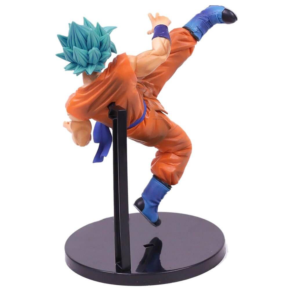Son Goku Fess - Dragon Ball Super - Bandai Banpresto - God Blue