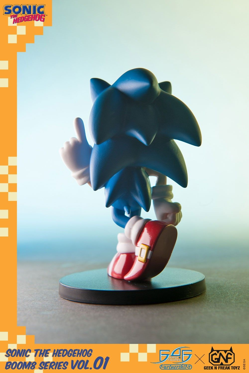 Sonic Number 1 - The Hedgehog Boom Series Vol 1