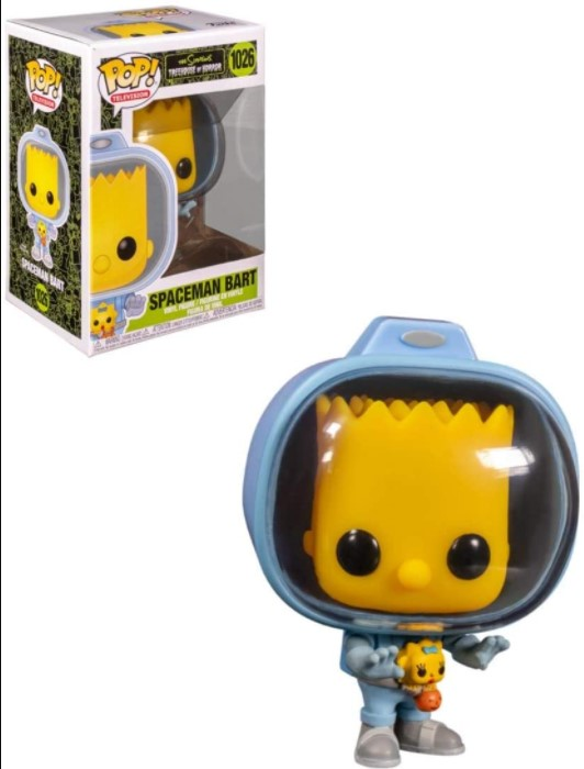 Spaceman Bart 1026 - The Simpsons Treehouse Of Horror - Funko Pop Television