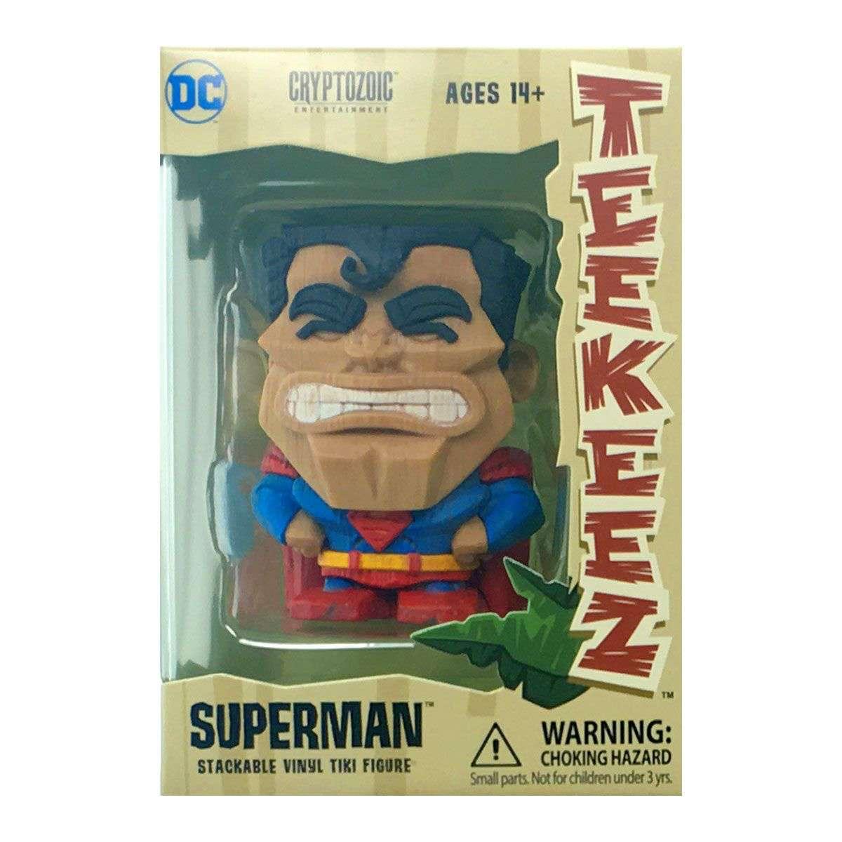 SUPERMAN TEEKEEZ DC COMICS - CRYPTOZOIC
