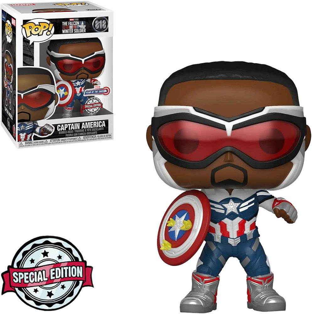 The Falcon and the Winter Soldier Exclusivo Funko Pop Marvel 818