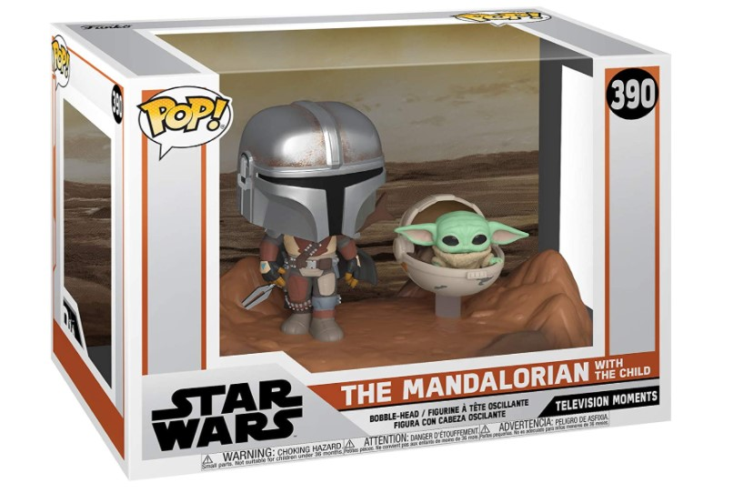 The Mandalorian With The Child - Star Wars - Funko Pop 390