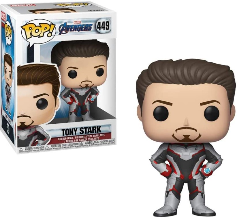 Tony Stark Funko Pop 449 NC Games Multicor - Vingadores Ultimato