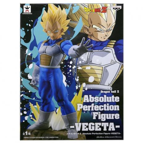 Vegeta Absolute Perfection Dragon Ball Z - Bandai Banpresto