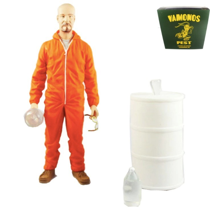 Walter White Breaking Bad - Vamonos Pest - Mezco