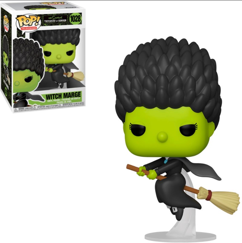 Witch Marge 1028 - The Simpsons Treehouse Of Horror - Funko Pop Television