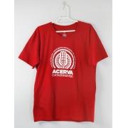Camiseta Masculina Acerva Catarinense Vermelho