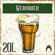 Kit Receita de Cerveja Artesanal Weissbier (Trigo) 20L