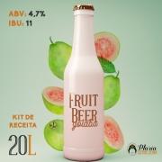 Receita Cerveja Artesanal Fruit Beer Goiaba 20L